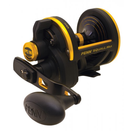 SQUALL 50 LEVER DRAG REEL